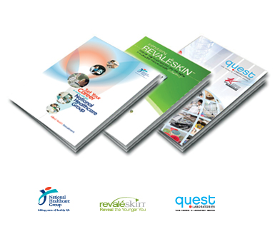 NHG | revaleskin | quest lab | print design