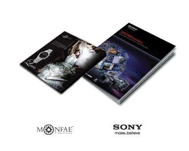 monfae | sony | corporate branding