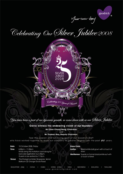 Goodrich Global Silver Jubilee 2008 | Campaign Event Design