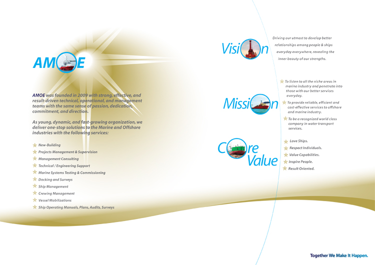 AMOE | Corporate Brochure Design
