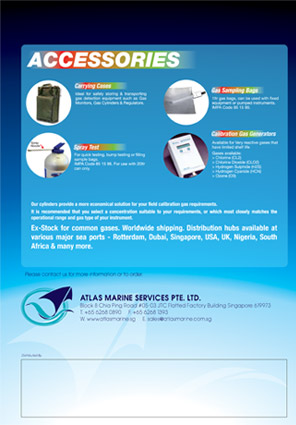 Altas Marine | Corporate Brochure Design