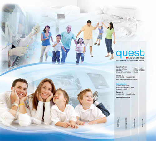 Questlab Laboratories | Wall Mural Design