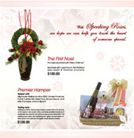 Speaking Roses Christmas Promotion Flyer | Graphic Design