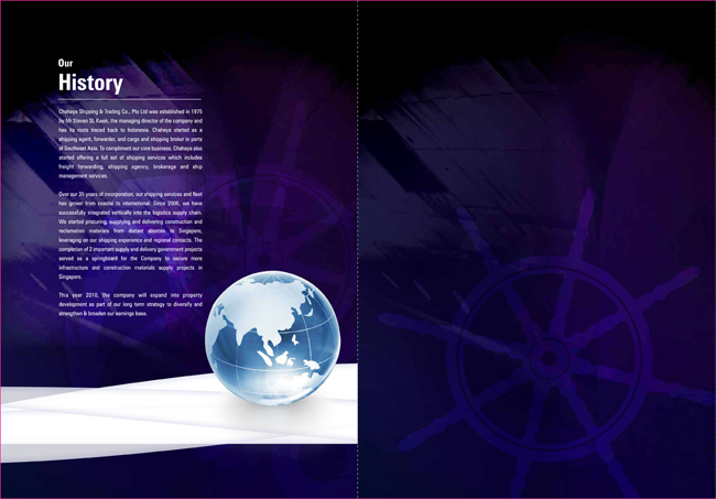 Chahaya | Corporate Brochure Design